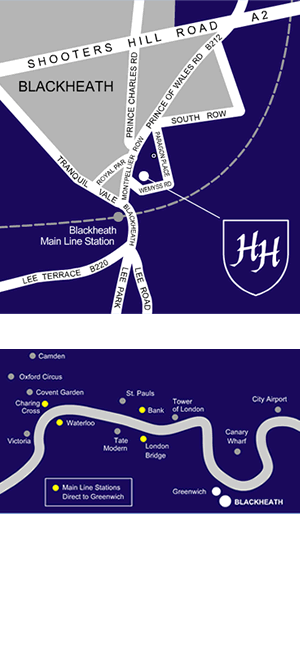 How to get to Heath House map